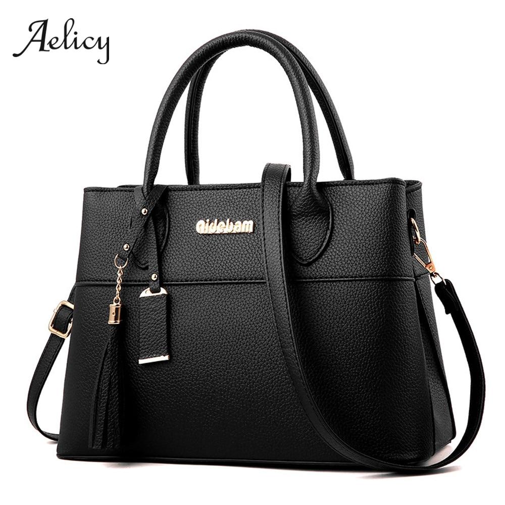 Aelicy Handbags-Bags Women Ladies Top-Handle Business-Messenger-Bags Main for Sac