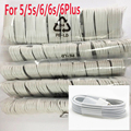 100PCS/LOT! Latest White Wire 8pin good quality USB Date Charger Cable for iPhone7 5 5s 6s 6 plus iPad fit for ios 8 1M Dropship