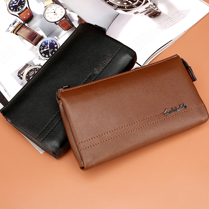 free shipping new fashion brand men's clutches male organizer wallet money coins cards phone holder 100% genuine cowhide leather free shipping new fashion brand women s long wallet purse clutches lady money clip coin phone bag 100