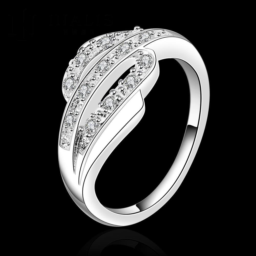 e8123f28325e Venta caliente! moda ANILLO DE PLATA 925 joyería de plata esterlina