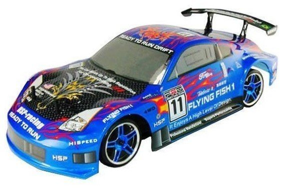 1:10th Scale hsp 4WD EP on road drifting car ,NI-MH battery+3CH 2.4G transmitter (Model NO:94123)