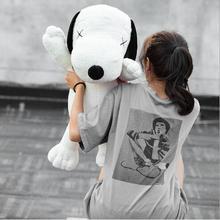 WYZHY New dog creative doll plush toy cute soft body to send friends children birthday gift  40CM
