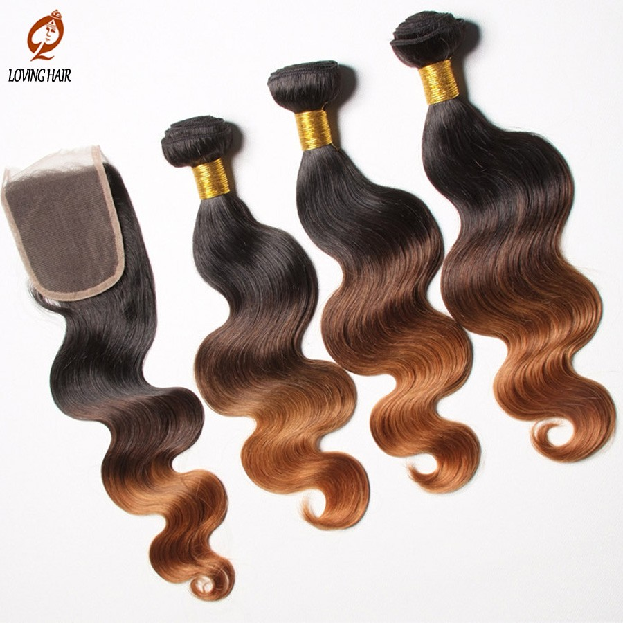 Hair-with-closure-brazilian-Body-wave-ombre-brazillian-virgin-hair-weave-with-lace-closure-free-part (2)