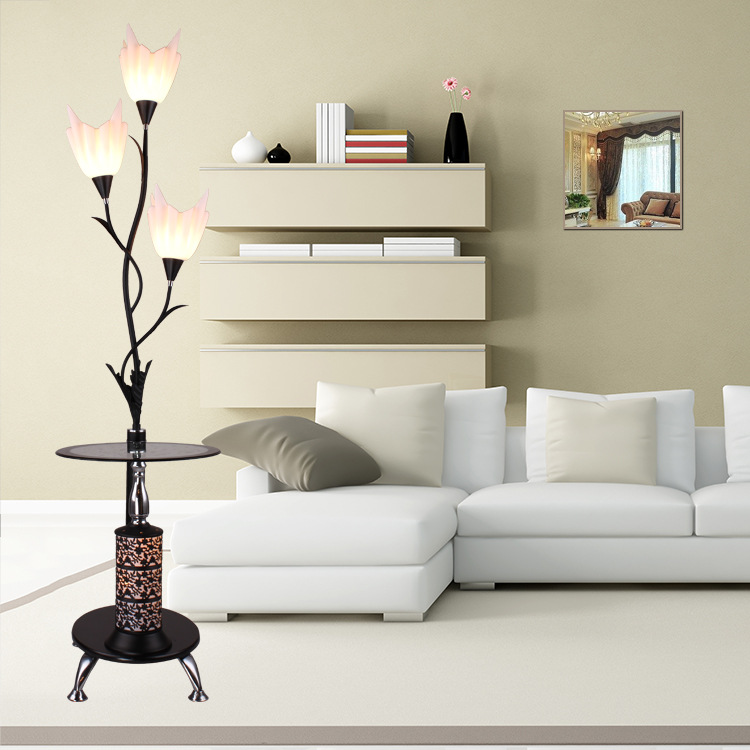 Models Modern Simple Led Floor Lamp Creative Fresh Coffee