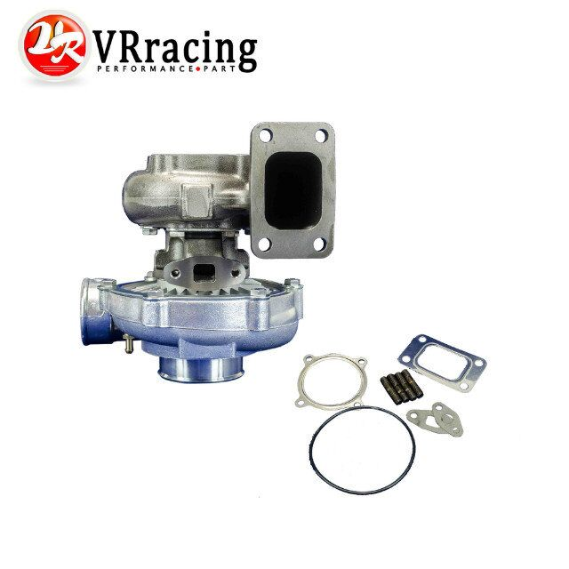 VR RACING T3 T3 60 1 UNIVERSAL V2 TURBO CHARGER AR70 63AR 4 BOLT EXHAUST BIG