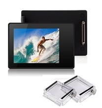 BacPac External Monitor Display Viewer Non-Touch Screen for Gopro Hero 4 3+ with Waterproof Back Cover Protective Case