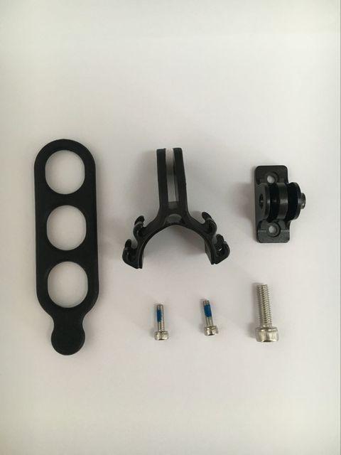 Ordenador de bicicleta adaptador IGPSPORT S81 conversión soporte Base S80 Garmin montaje luz de la bici marco colgar deportes Cámara