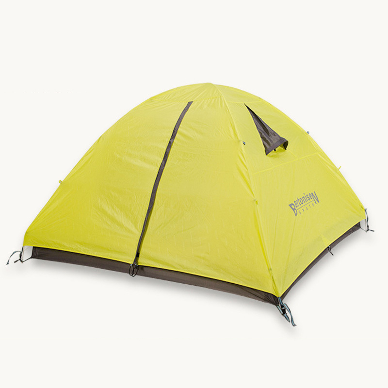 Outdoor 3-4 Person Portable Camping Beach Family Tent Waterproof Double Layer Four Season Ultralight Hiking Awning Tente ZP93 1 2 person double layer camping beach tent 4 season aluminum rod outdoor barraca winter ice fishing ultralight awning tente zp99