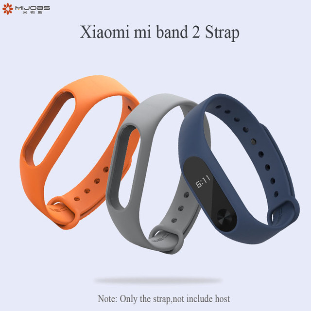 mi band 2 Strap Bracelet Accessories Pulseira Miband 2 Replacement Silicone Wriststrap Smart Wrist for Xiaomi Mi Band 2 Strap 1