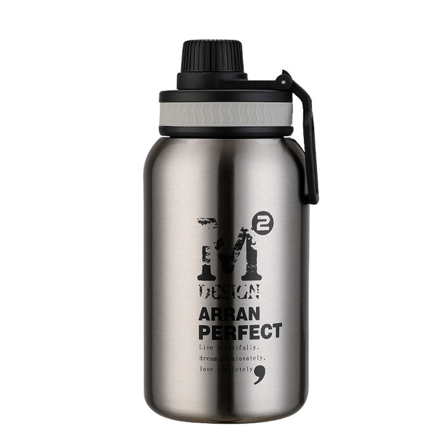580ML/880ML Double wall Vacuum Stainless steel sports water bottle creative BPA free healthy car driving thermal water bottle 5