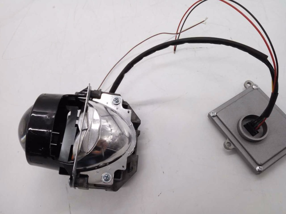 2pcs Sanvi Car LED Headlight for all car 35W 5500K Dual High Low Beam Headlights 3 inch Bi LED Projector Lens lights for car