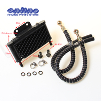Oil Cooling Cooler Radiator for 50 70 90 110 125 Horizontal Engine Chinese Dirt Pit Monkey Bike ATV Motorcycle KAYO APOLLO BSE
