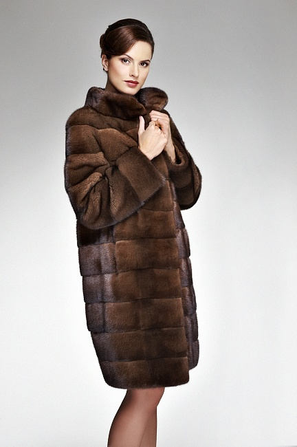 Online Shop Russian winter 100cm long black brown ladies real ...