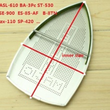 electric Iron Parts industrial steam iron shoe Aluminum cover ASL-610  BA-3Pc