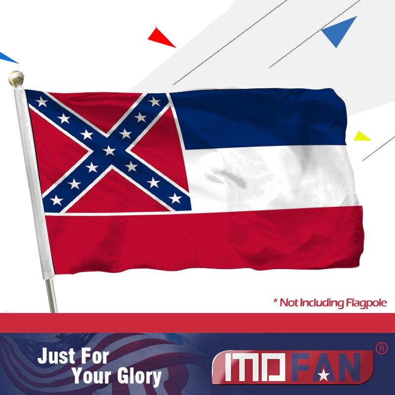 New 3x5 ft MISSISSIPPI STATE FLAG better quality USA seller