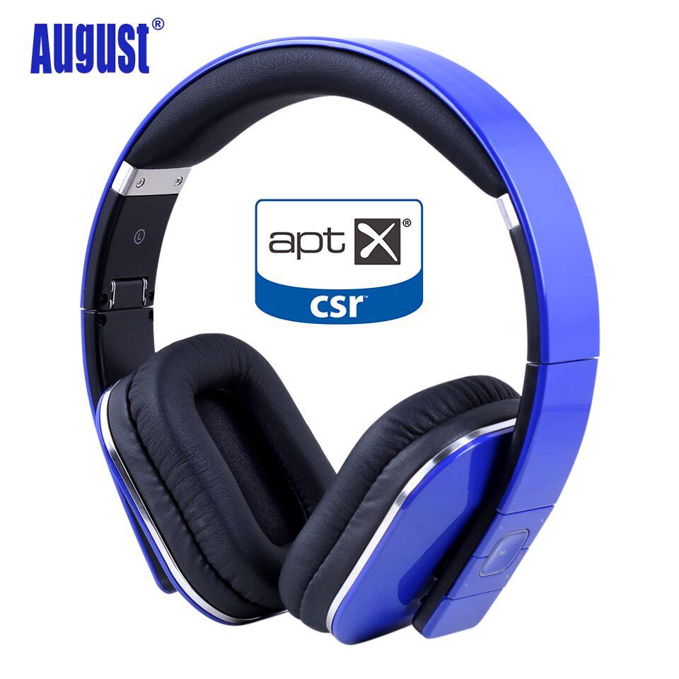 Août EP650 Bluetooth Sans Fil Casque avec aptX/NFC/3.5mm Audio En Bluetooth 4.1 Stéréo Musique Casque pour TV, ordinateur