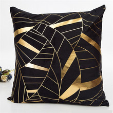 Morigins New Fashion Pillowcase 40*40 Geometry Euro Pillow Covers High Quality Cases Black and White Moon Pattern N10