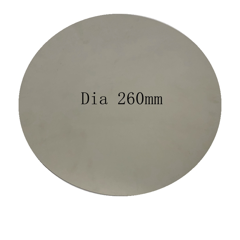 ENERGETIC Upgrade 3D Printer Heated Bed Removable Round Spring Steel Plate with Pre applied PEI Build Surface Dia 260mm
