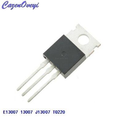 10pcs/lot FJP13007 TO220 MJE13007 J13007 J13007-2 E13007  Transistor In Stock10pcs/lot FJP13007 TO220 MJE13007 J13007 J13007-2 E13007  Transistor In Stock