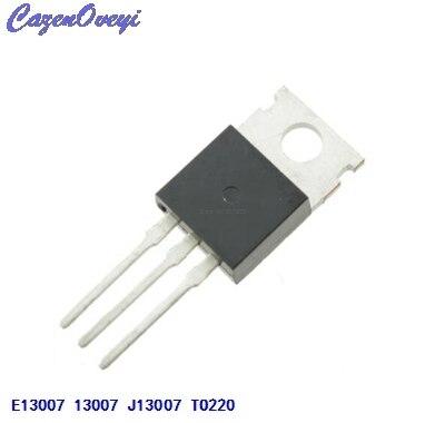 10pcs/lot FJP13007 TO220 MJE13007 J13007 J13007-2 E13007 Transistor In Stock