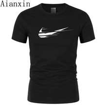 2019 New Arrivals Casual Mannelijke T-shirts Homme Gewoon Breken 3d Print Mannen T Shirts Fashion Custom Grafische Tees Japanse man Tshirt(China)