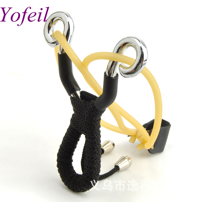 Powerful Alloy slingshot hunting Stainless Steel Thick Wrist Band Catapult Sports