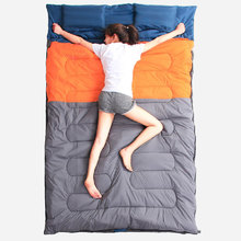 Sleeping bag 220 x135cm for outdoor camping