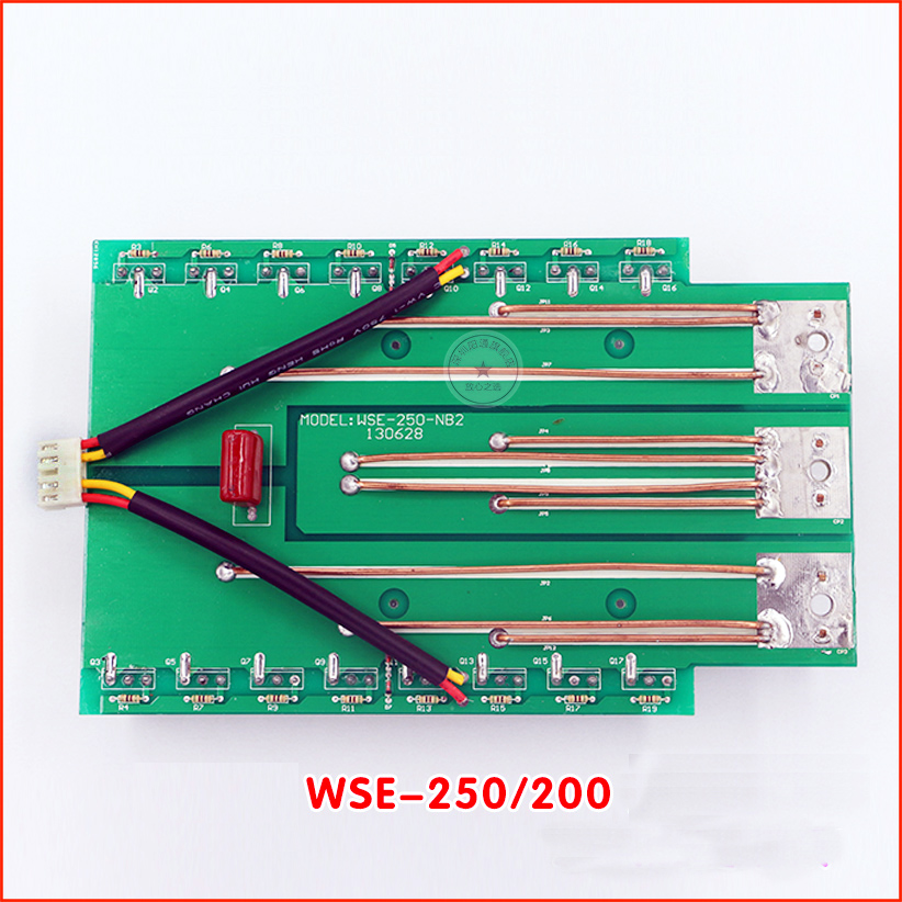 WSE-200 250 secondary inverter ac square wave argon arc welding machine inverter board 4 pcs lot wse tig inverter argon arc welding machine repair common four feet potentiometer ra113n b104 100 k ohms