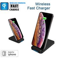 Universal Qi Wireless Charger For iPhone X XS XR 10W Fast Charger USB Wireless Charging For Samsung Galaxy S10 S9 phone stand *7