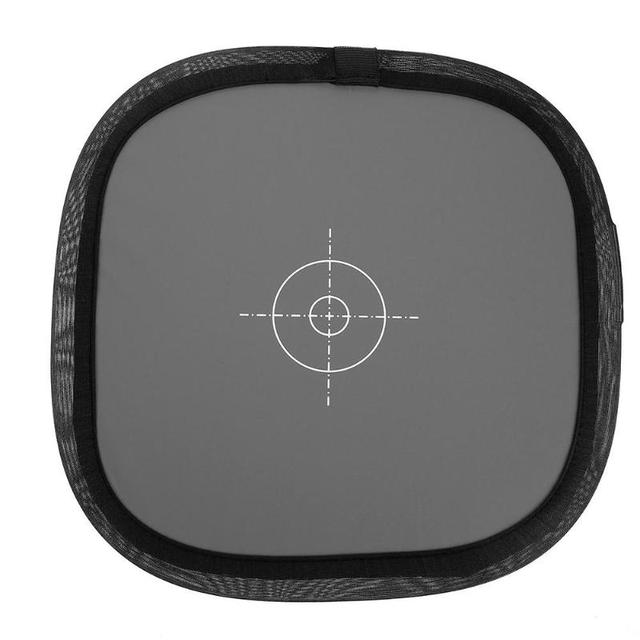 """12"""" Inch 30cm 18% Foldable Gray Card Reflector White Balance Card Double Face Focusing Board with Carring Bag Photography Tools"""