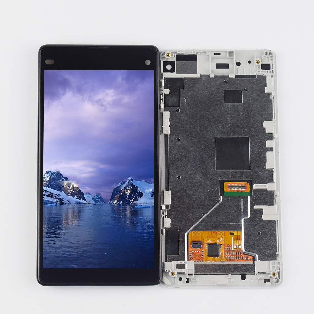 Black Color : Black LCD Screen Mobile Phone and Digitizer Full Assembly for Alcatel 7//6062 6062T 6062W