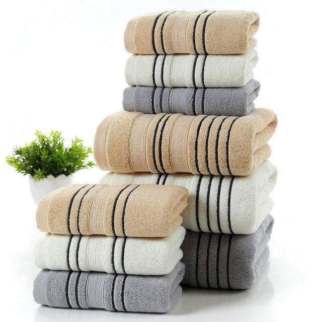70 140cm 100 Cotton Towel Thick Beach Quick Drying Sand Free Mat Bath