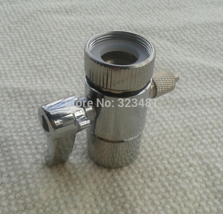 Metall Wasserhahn Belüfter Umsteller Adapter für Munddusche zubehör ventil schalter für wasserfilter