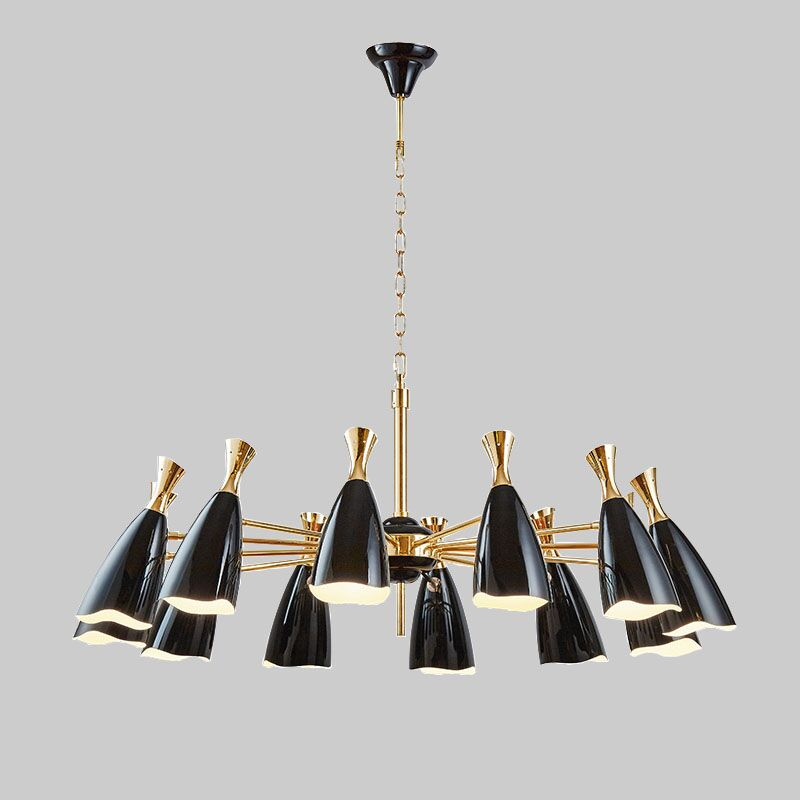 Designer's Lamp Brand Chandelier Lighting Post Modern Art Creative Modern Chandelier Light kroonluchter lampadario wieco art modern 100