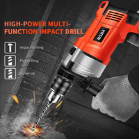Electric Rotary Hammer with BMC and 5pcs Accessories Impact Drill Power Drill Electric Drill