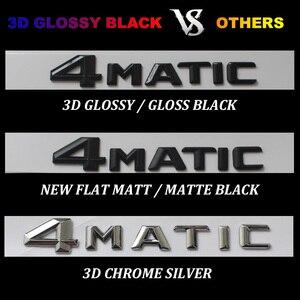 Image 3 - 3D 광택 블랙 C117 CLA 자동차 엠 블 럼 CLA45 CLA180 CLA200 CLA220 CLA250 엠 블 럼 배지 스티커 자동 터보 로고 메르세데스 벤츠 AMG