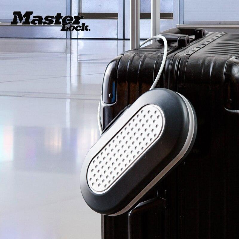 Master Lock Cofre Bloqueio de Senha Portátil Mini Cofres Cofre de Segurança Corda de Fio Fixo Jóias Caixas de Armazenamento do Telefone Do Cartão de Dinheiro
