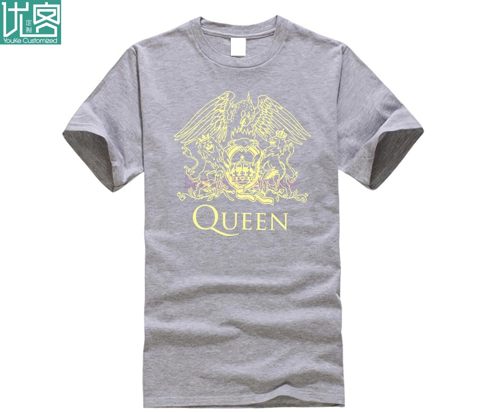 Men 39 s T shirts Summer Style Fashion Swag Men T Shirts Queen Band Rock Music Logo Men 39 s T shirt in T Shirts from Men 39 s Clothing