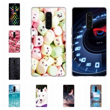 For Sony Xperia 1 Case Ultra-thin Soft TPU Silicone Cover Romantic Patterned Funda Shell