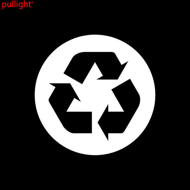 Online Shop 9595cm Recycling Symbol Personalized Car Stickers