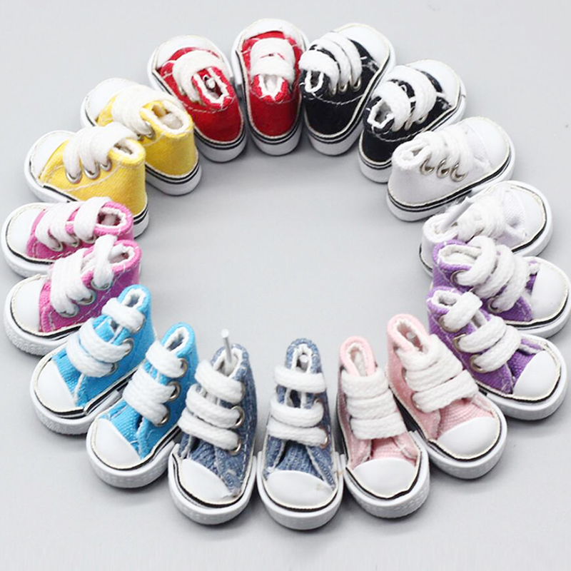 Кукольные туфли Blyth 3,5 см, кукольные кроссовки разных цветов, парусиновые туфли для 1/6 BJD, Azone, Pullip, Шарнирные тела, аксессуары для кукол