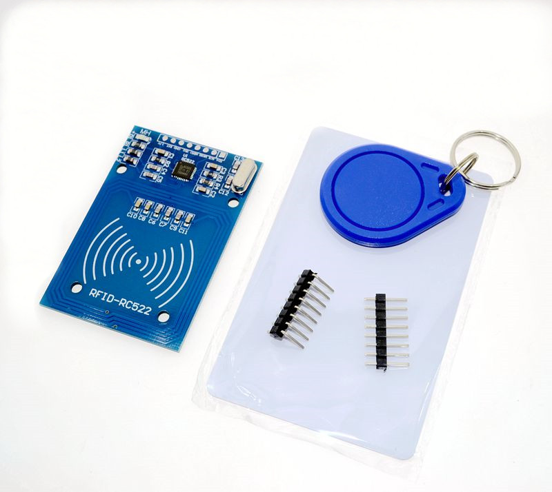 Free Shipping RFID module RC522 Kits S50 13.56 Mhz 6cm With Tags SPI Write & Read for arduno uno 2560