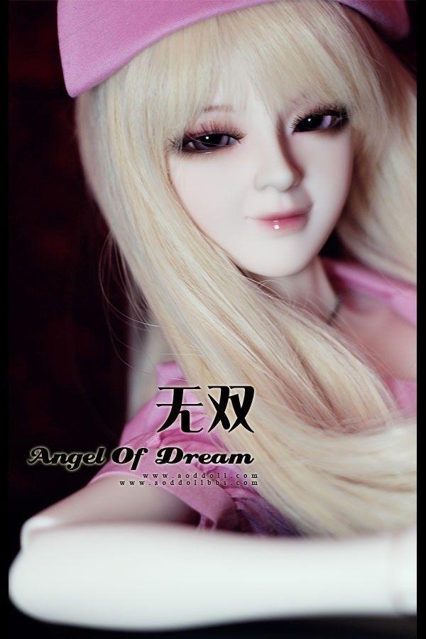 [wamami] AOD 1/3 BJD Dollfie Girl Set* FREE FACE UP/EYES/~Wu Shuang [wamami] aod 1 3 bjd dollfie girl set free face up eyes fan