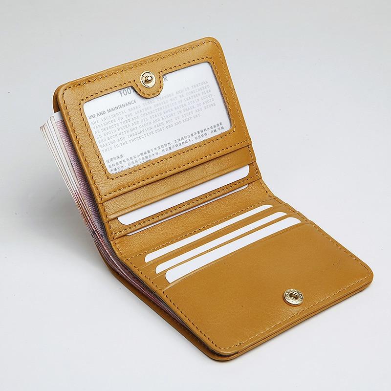 EMMA YAO օրիգինալ կաշվե դրամապանակ կին նորաձևության դիզայներ դրամապանակով կանանց համար