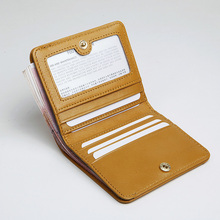 EMMA YAO Original leather wallet female fashion designer wallet women