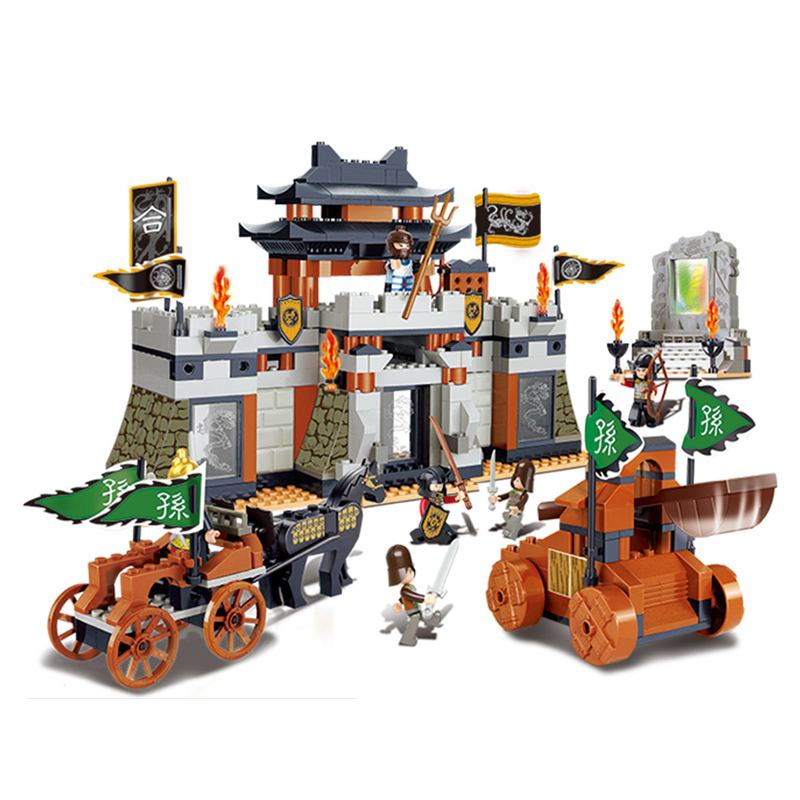 Sluban Model Building Compatible lego Lego B0265 445pcs Model Building Kits Classic Toys Hobbies Castle Building 14012 model building kits compatible with lego knights clay s rumble blade jestro model building toys hobbies 70315