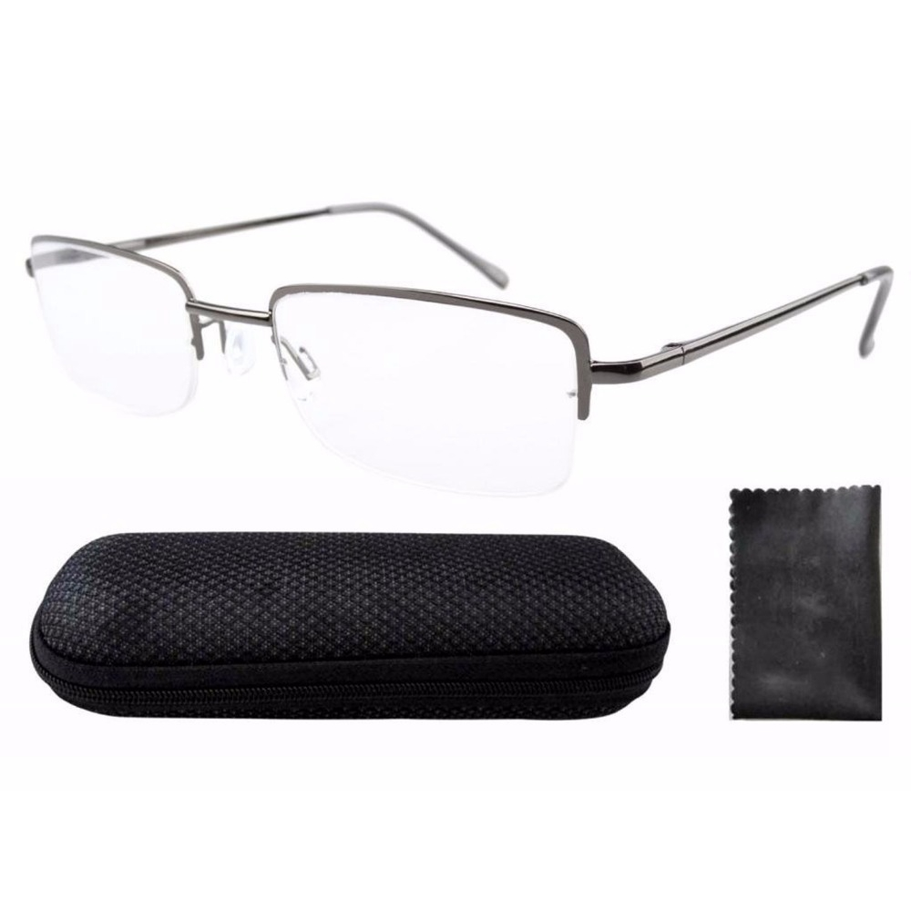 r1511 strong strength rectangle reading glasses half