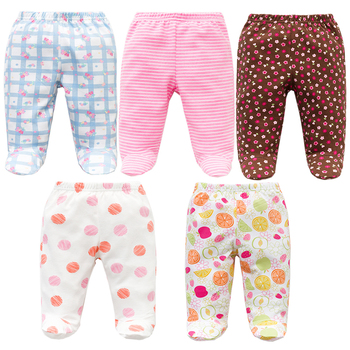 Set of Five Baby Boys' Cotton Pants 2