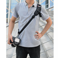Foucs F1 Quick Rapid Camera Single Shoulder Sling Black Strap for NIKON Sony Canon Olympus Pentax Camera