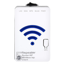 Delux WIFI Wireless Router Repeater AP WR36 300Mbps 2 ports RJ45 Wireless WIFI Mini Router WIFI